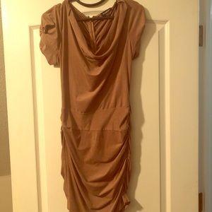 Bebe Tan dress
